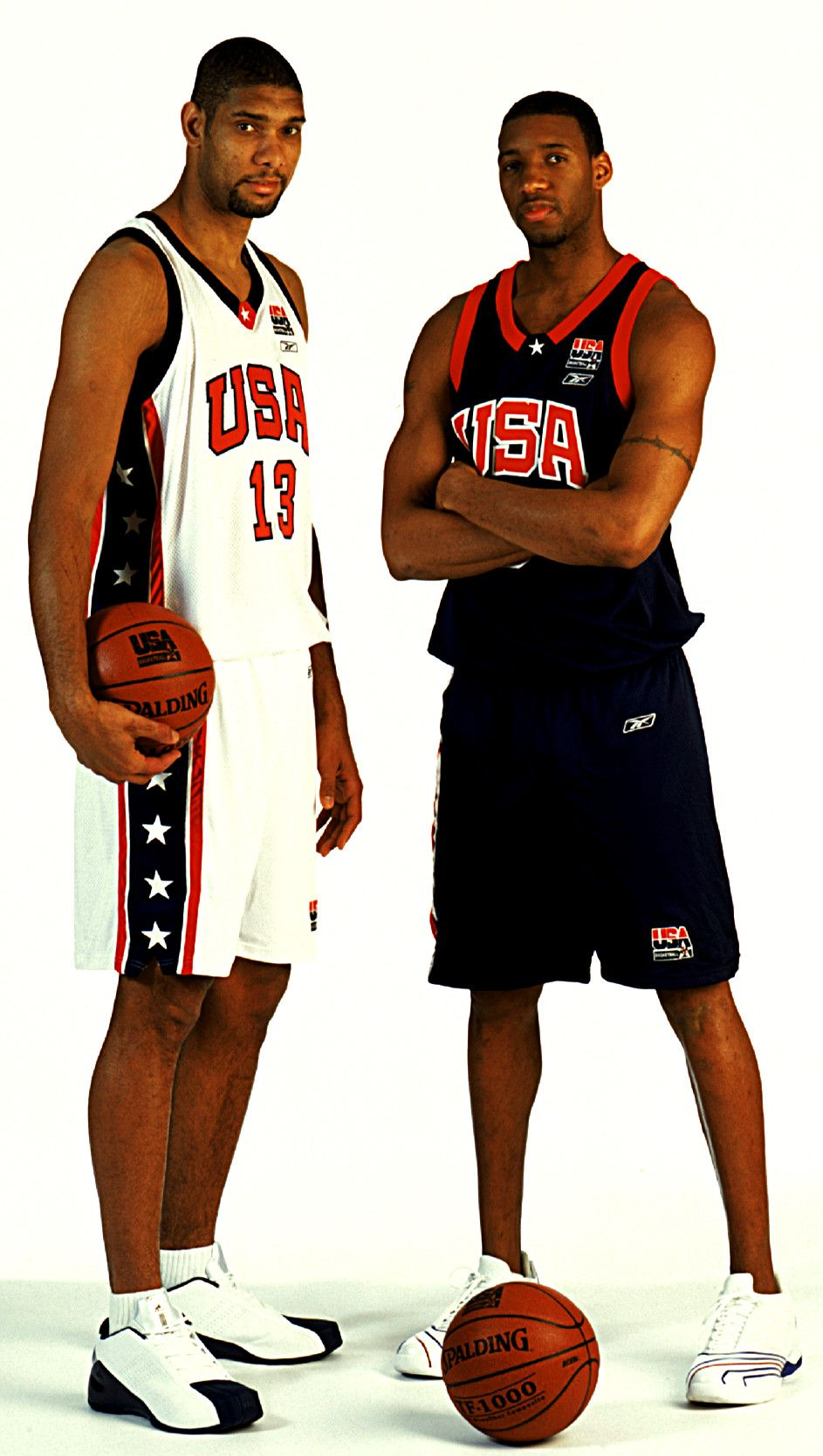 innovative design 9cd6f 56b3a Tim Duncan and Tracy McGrady. Who also became a Spur before he retired. 😊