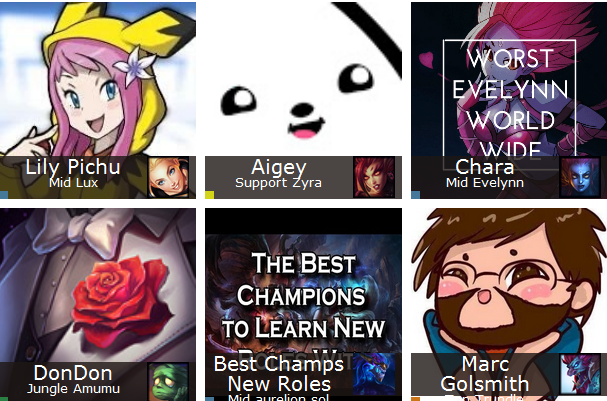 If you want to win the LOL game champion select you need