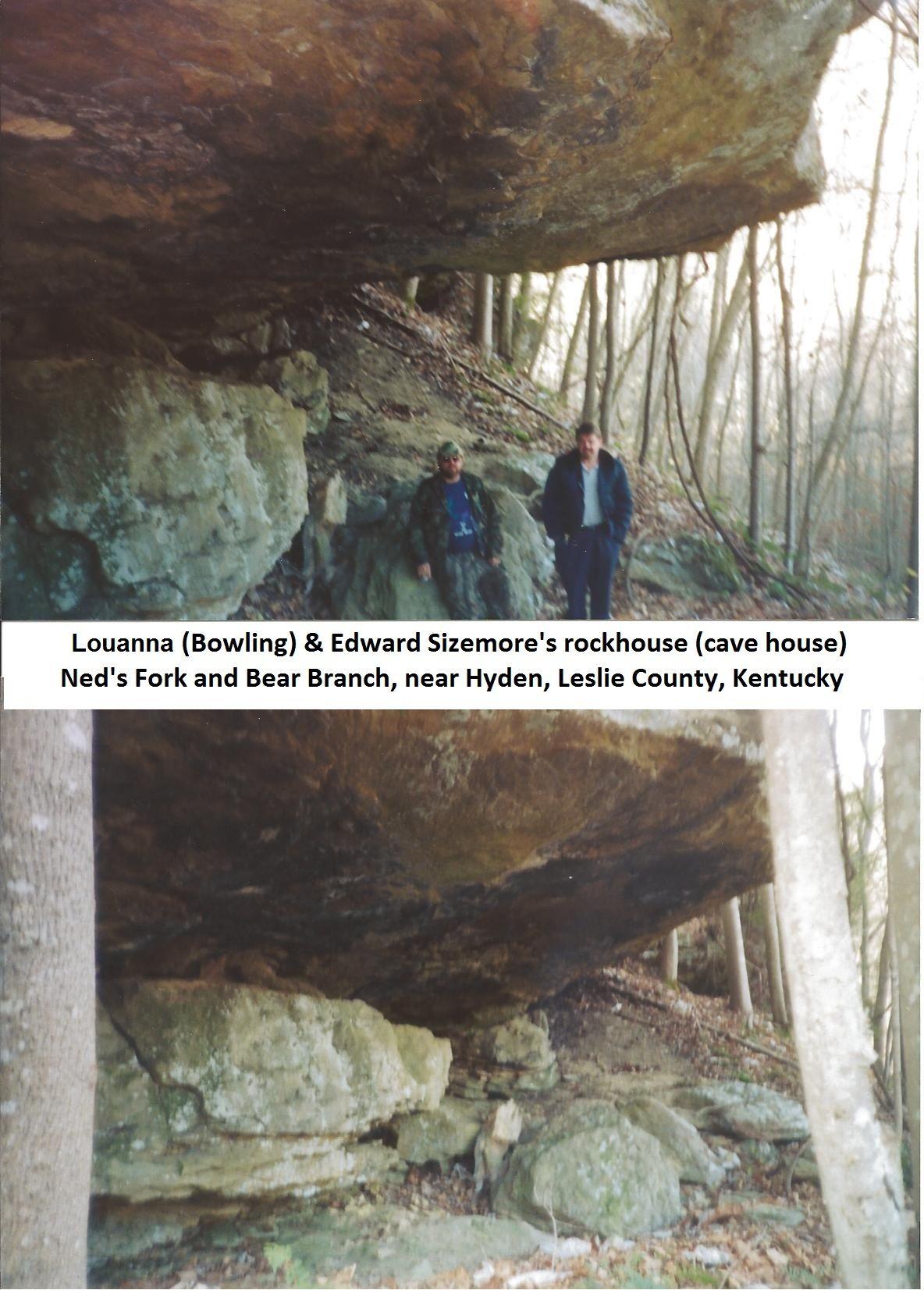 Edward Sizemore's rock house | HALE ancestors | Cherokee