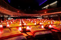 movie theater with bed - Google Search