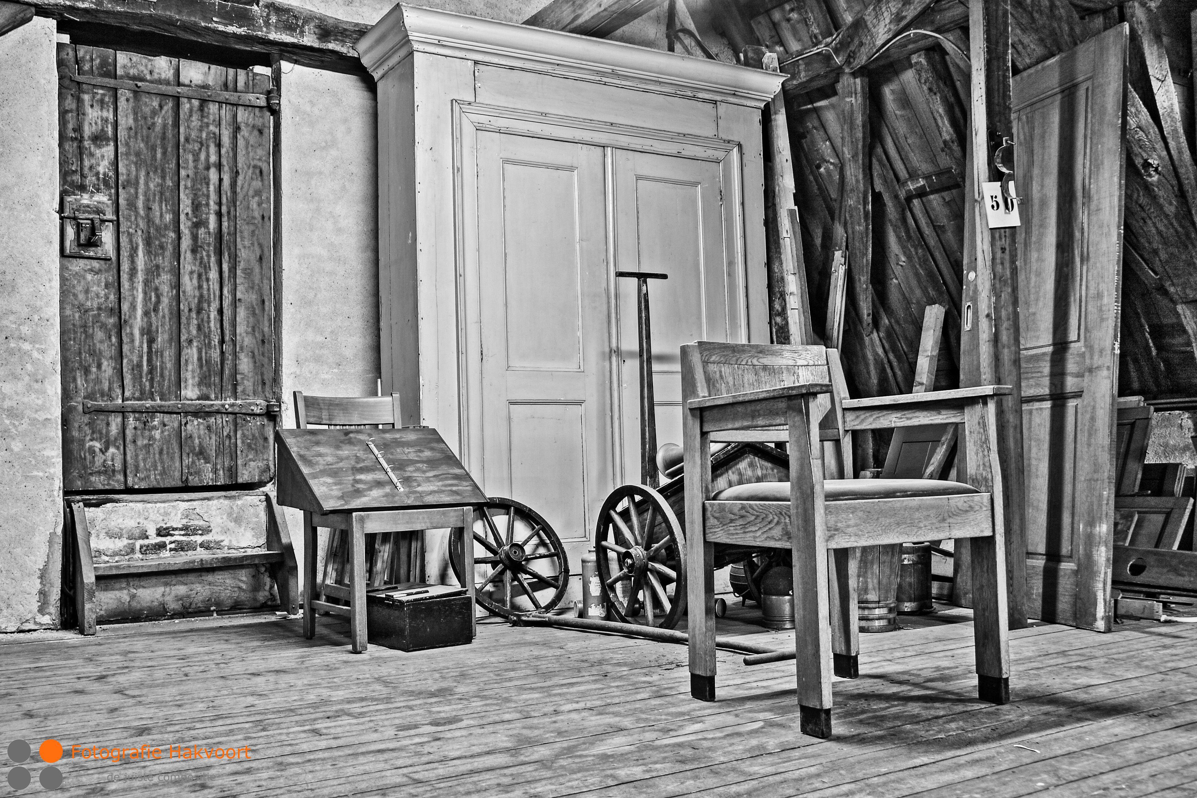 Een oude zolder