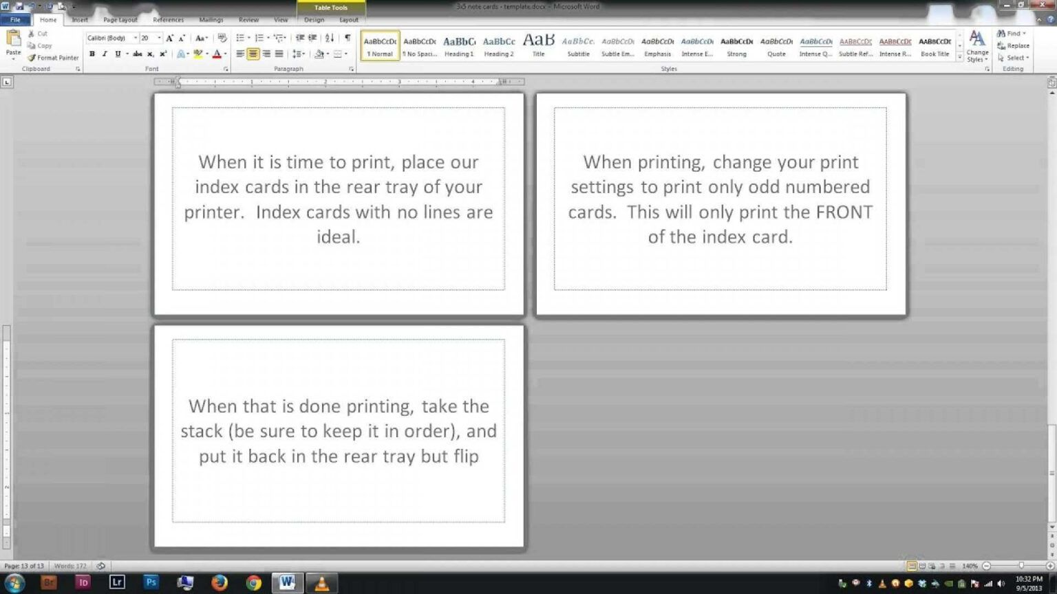 95 Free 3x5 Index Card Template Microsoft Word Download For For 3x5 Blank Index Card Template