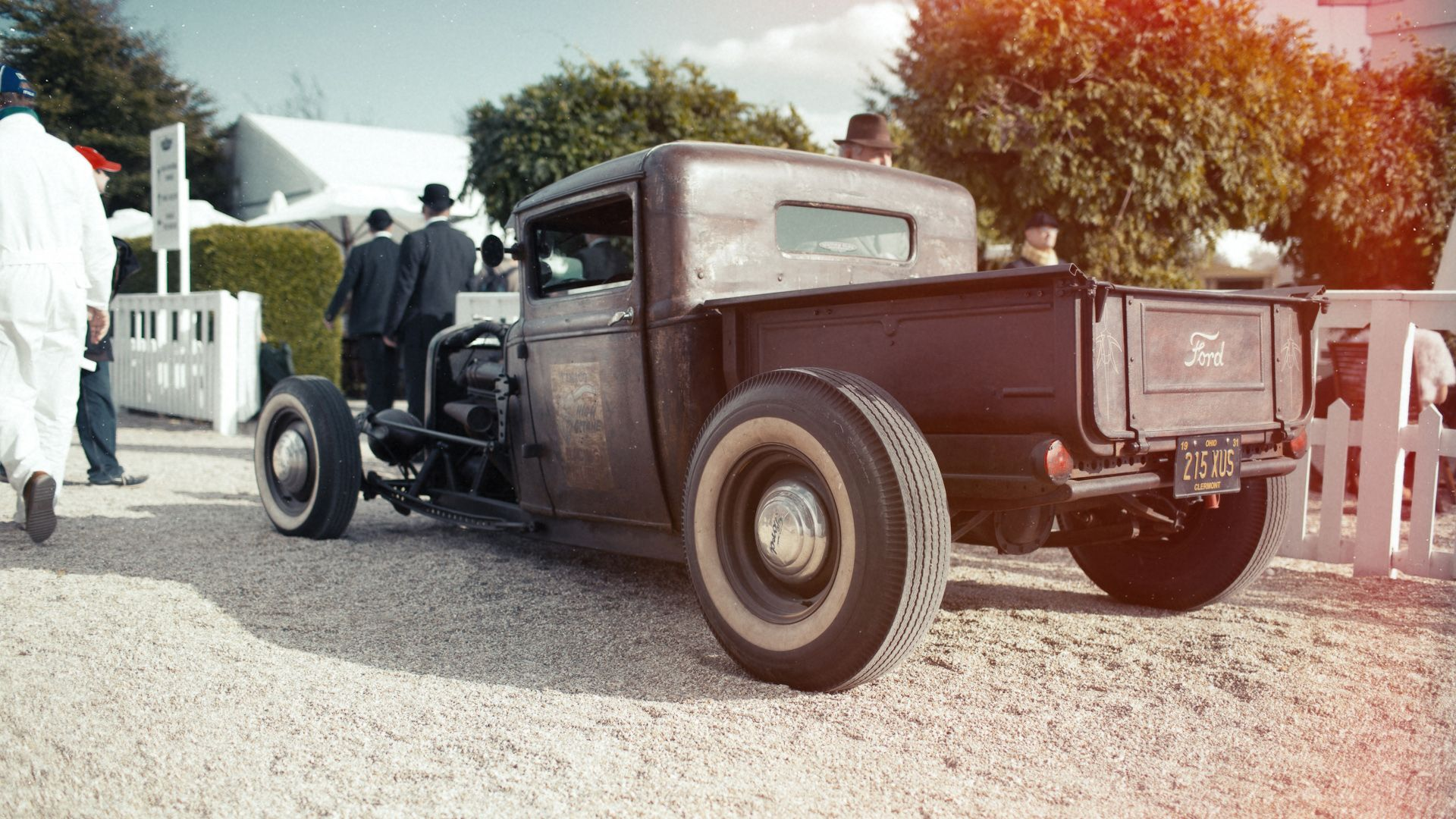 Classic Ford Hot Rod Car - http://carwallpaper.org/classic-ford-hot ...