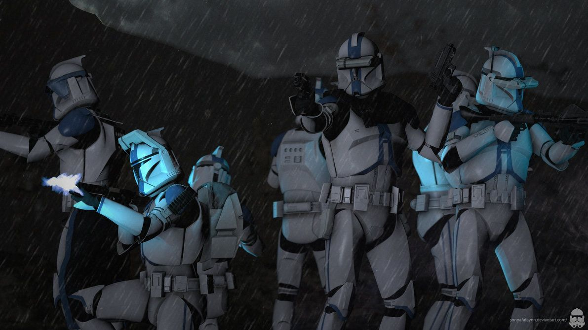 Surrounded [4K SFM] by Sonoafafayon   Star Wars Clone Troopers