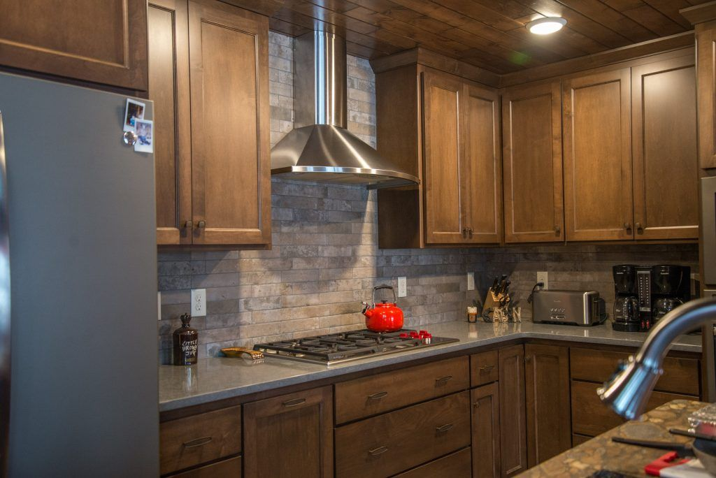 Neutral Natural Stone Tile Kitchen Backsplash Stone Tiles