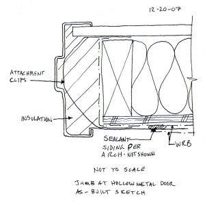 Exterior Steel Door Frame Details  sc 1 st  Pinterest & Exterior Steel Door Frame Details | + | Pinterest | Hollow metal ...