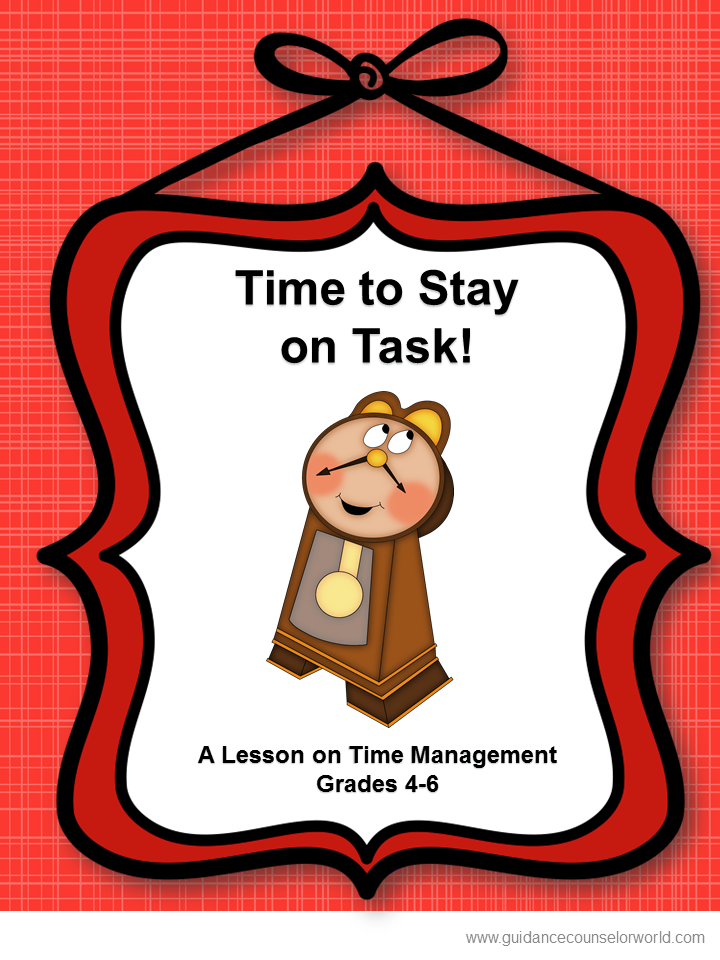Guidance Lesson On Time ManagementTeach Students To Prioritize