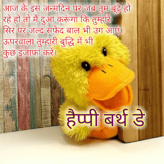 Top 15 Funny Happy Birthday Wishes In Hindi Funny Happy
