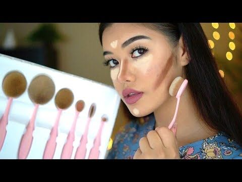 oval makeup brushes review  how to use oval makeup