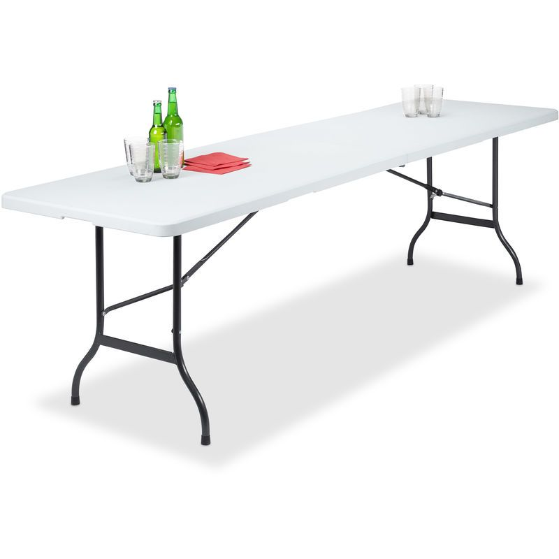 Table de Jardin Pliant Plastique Portable Valise Résistant ...
