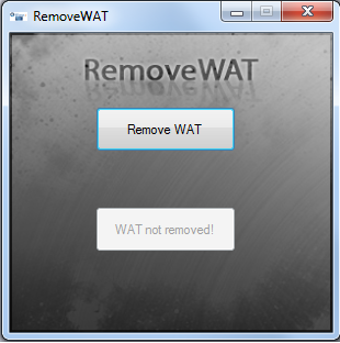 removewat for windows 7 ultimate 64 bit