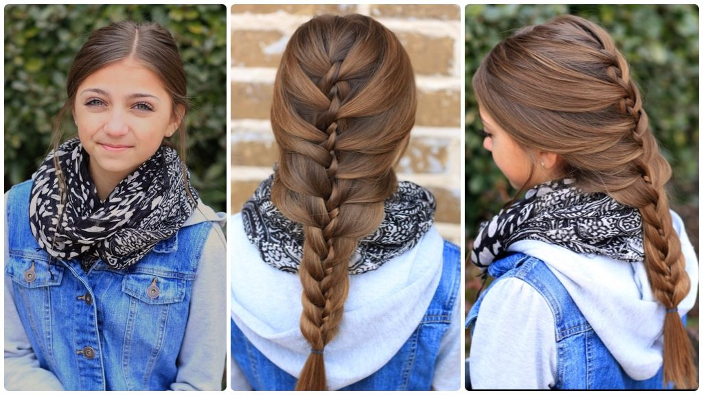 The Twist Braid | Cute Braids | Cute Girls Hairstyles | Spring ...