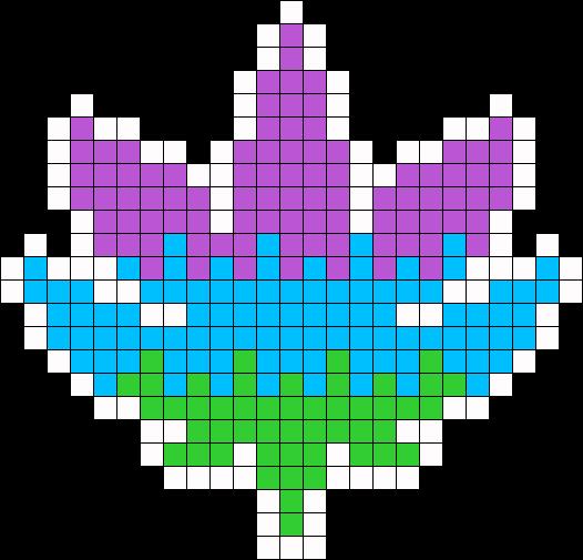Weed Perler Bead Patterns