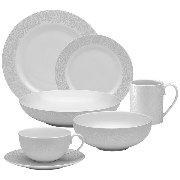 Buy Denby Monsoon Lucille Silver Tableware online at JohnLewis.com - John Lewis  sc 1 st  Pinterest & Buy Denby Monsoon Lucille Silver Tableware online at JohnLewis.com ...