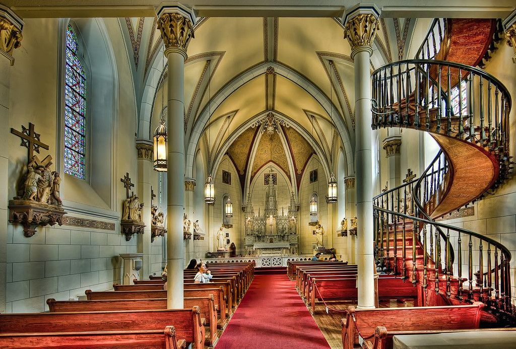 Best Loretto Chapel And The Miraculous Staircase Santa Fe New 640 x 480