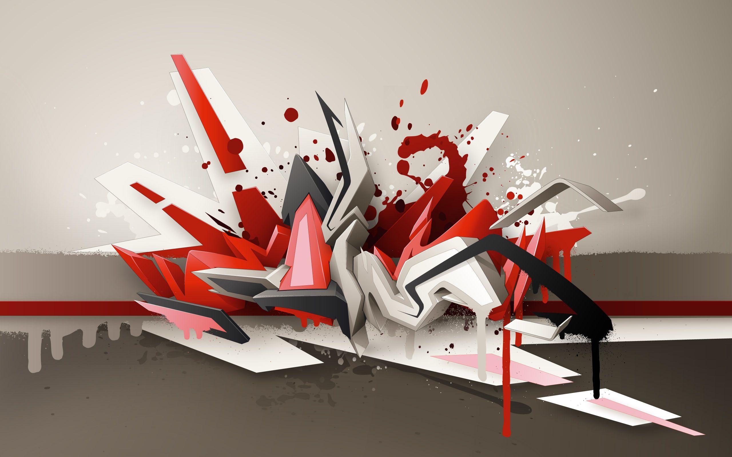 daim graffiti - Google Search | Graffiti Delta 3D | Pinterest ... for 3d Wall Graphic Design  49jwn
