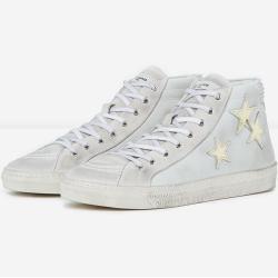 Photo of The Kooples – Weiße Sneaker aus Leder mit Schnürsenkeln – Herrenthekooples.com