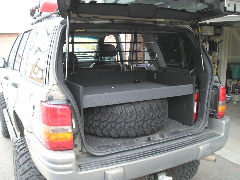 Cargo Area Gear Storage Jeep Interiors Jeep Zj Jeep Cherokee Xj