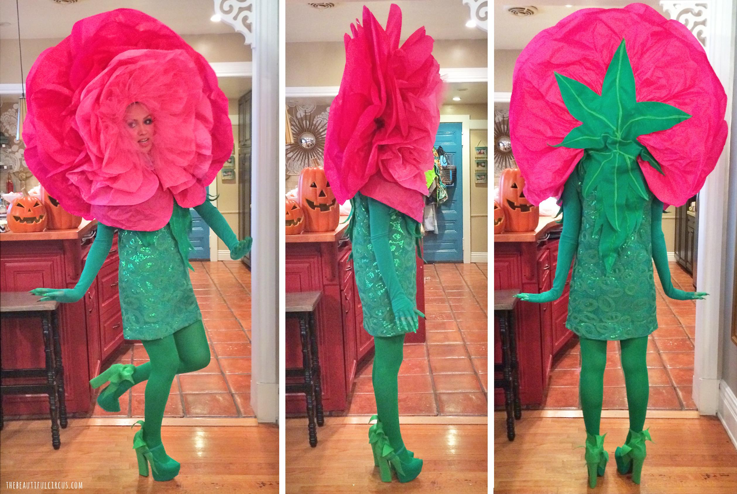 Flower Costume Thebeautifulcircus Halloween Fun In 2018