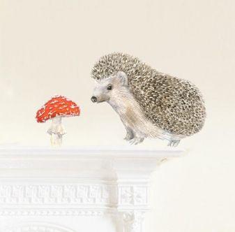 Sisustustarra- setti, Chocovenyl (Hedgehog)