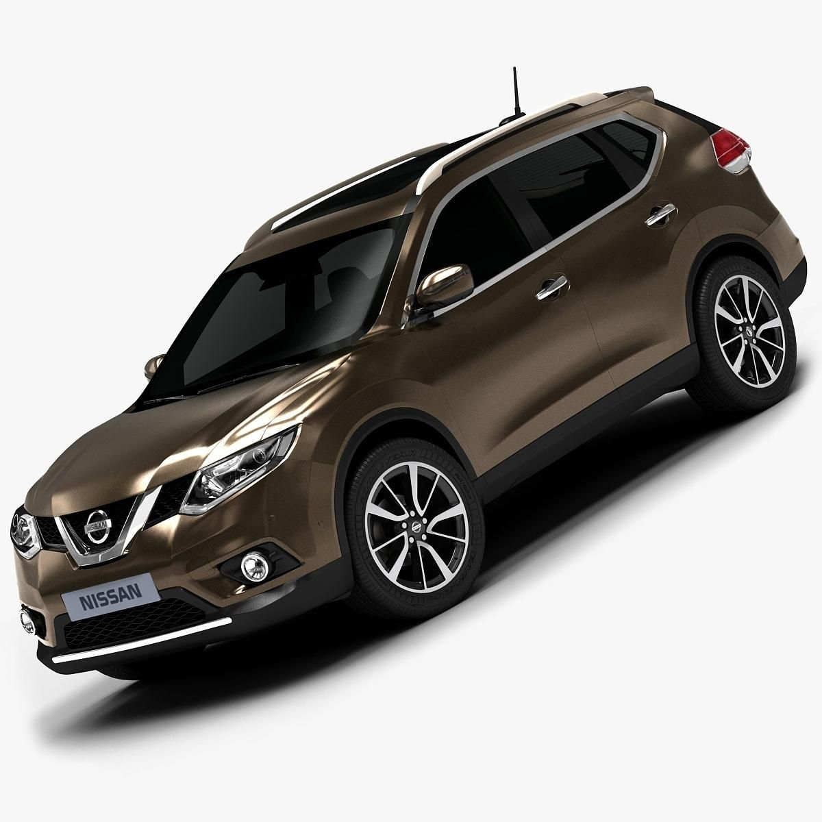 Interior Design Nissan X Trail: 2014 Nissan Rogue (Low Interior) 3D Model #AD ,#Nissan