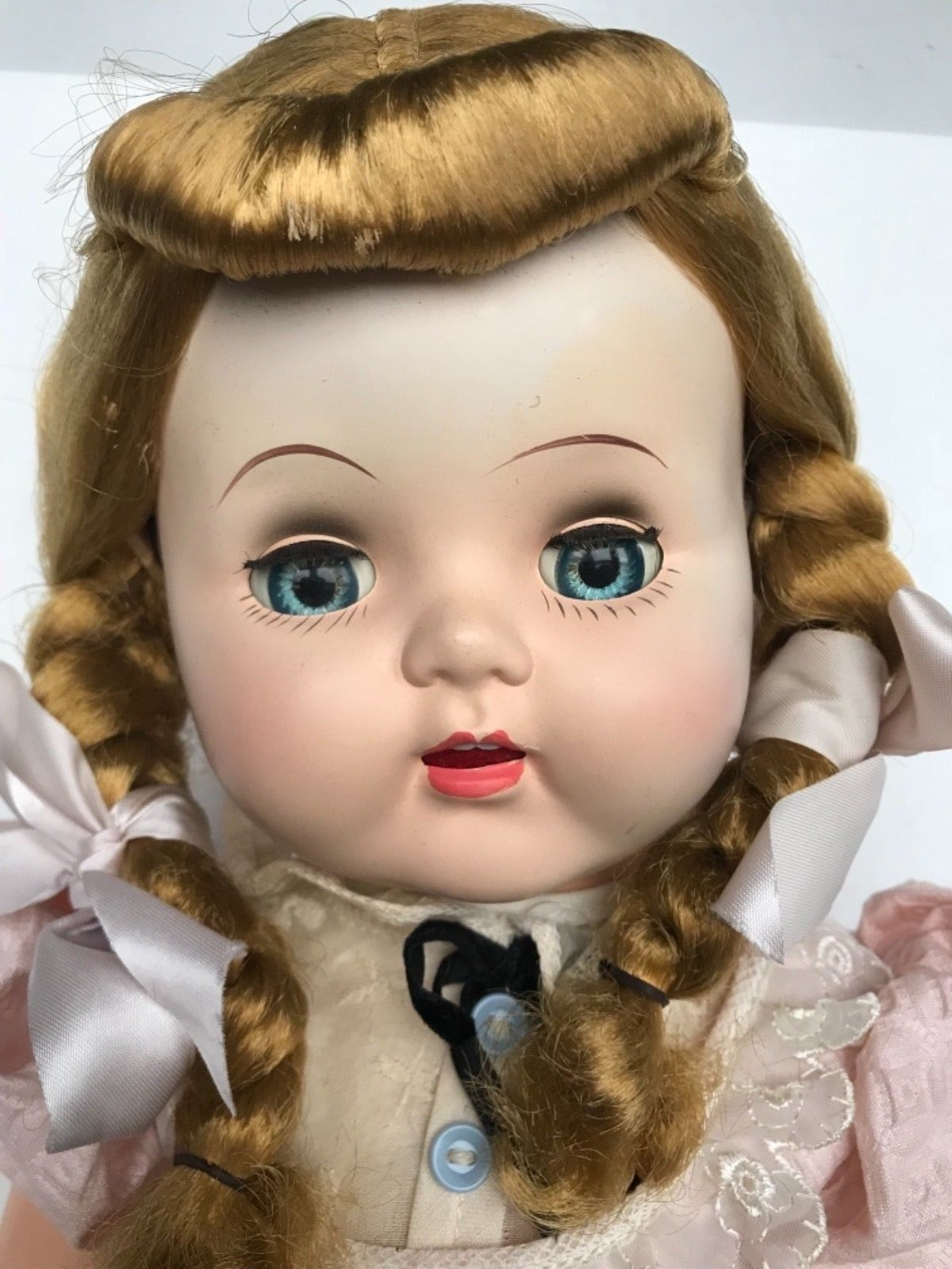 Vintage 1952 MIB Eegee Susan Stroller Saucy Walker baby