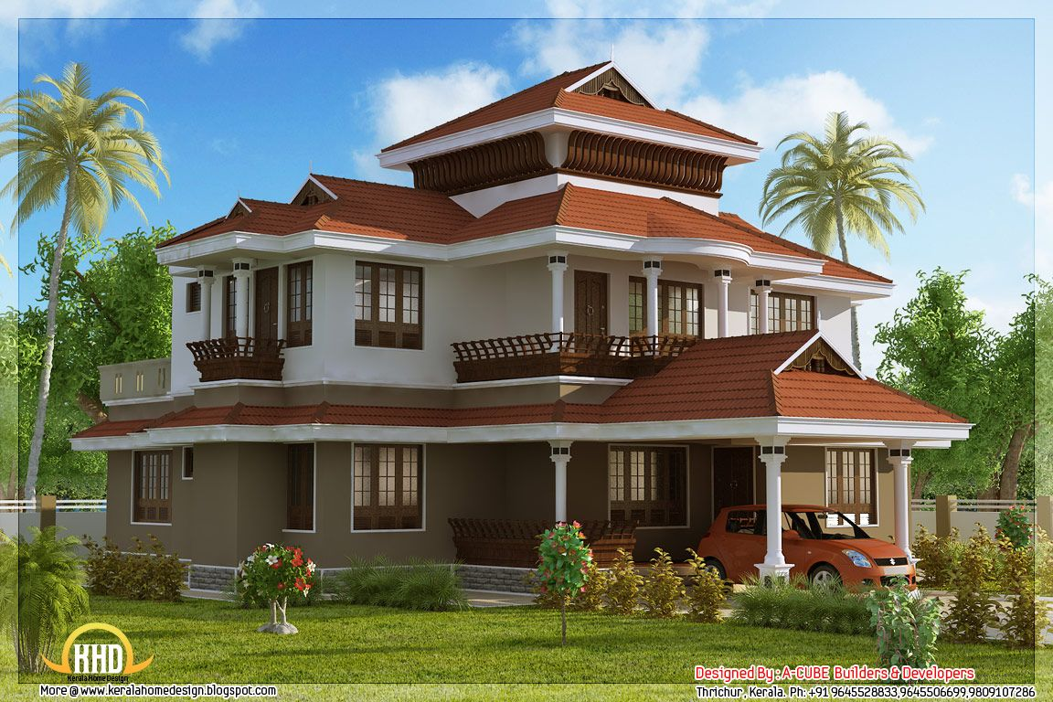 Stunning Kerala House Cool House Designs House Designs Exterior
