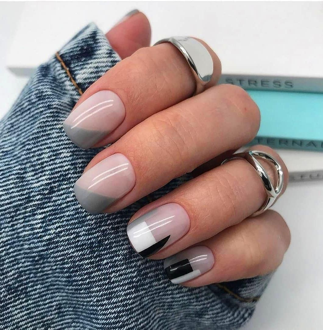 50 Simple Summer Square Acrylic Nails Designs In 2019 In 2020