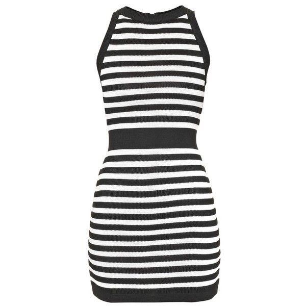 59c943d406d8 Women s Balmain Stripe Knit Minidress ( 1