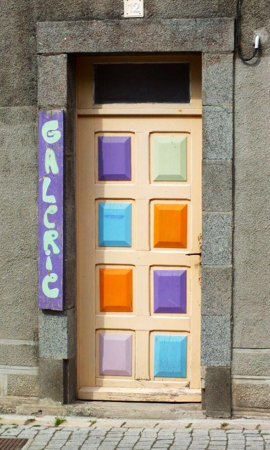 Pastilles du0027aquarelle Ventana, Puertas ventanas y Puertas entrada - puertas de entrada