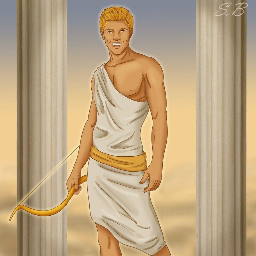Apollo Is Hot by sbrigs || Thalia: Whoa  Apollo is hot  Percy: He's