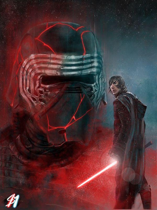 Kylo Ren The Rise Of Skywalker On Behance Star Wars Fan Art Star Wars Wallpaper Star Wars Art