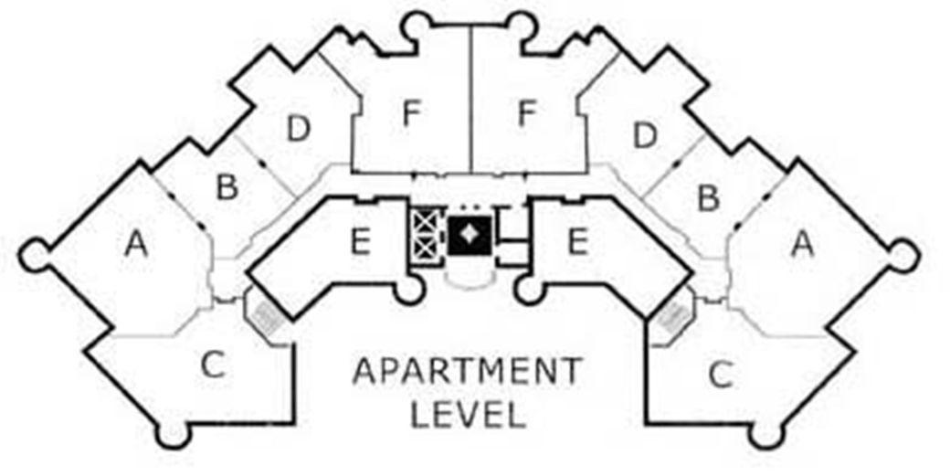 Shoreline Apartments Floor Plans