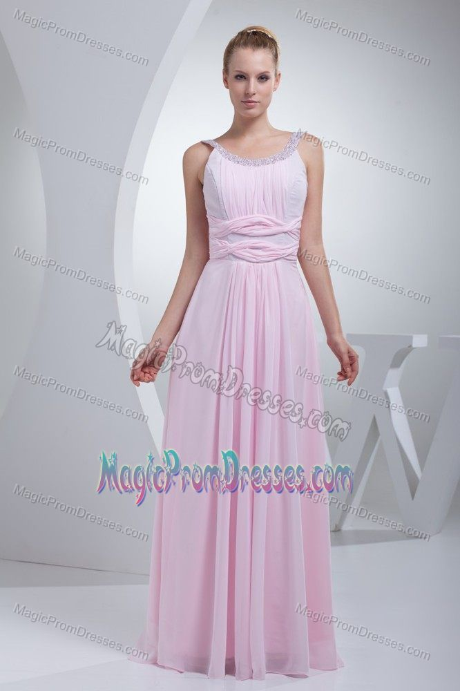 Beautiful Prom Dress for Tall Girls with Flowers and Beads Accent ...
