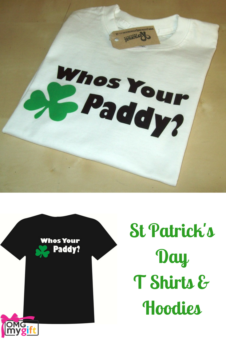 c3c4eb4b3 Who's Your Paddy Printed slogan T Shirt. Ideal for Hen Nights, Stag Nights  and St Patrick's Day