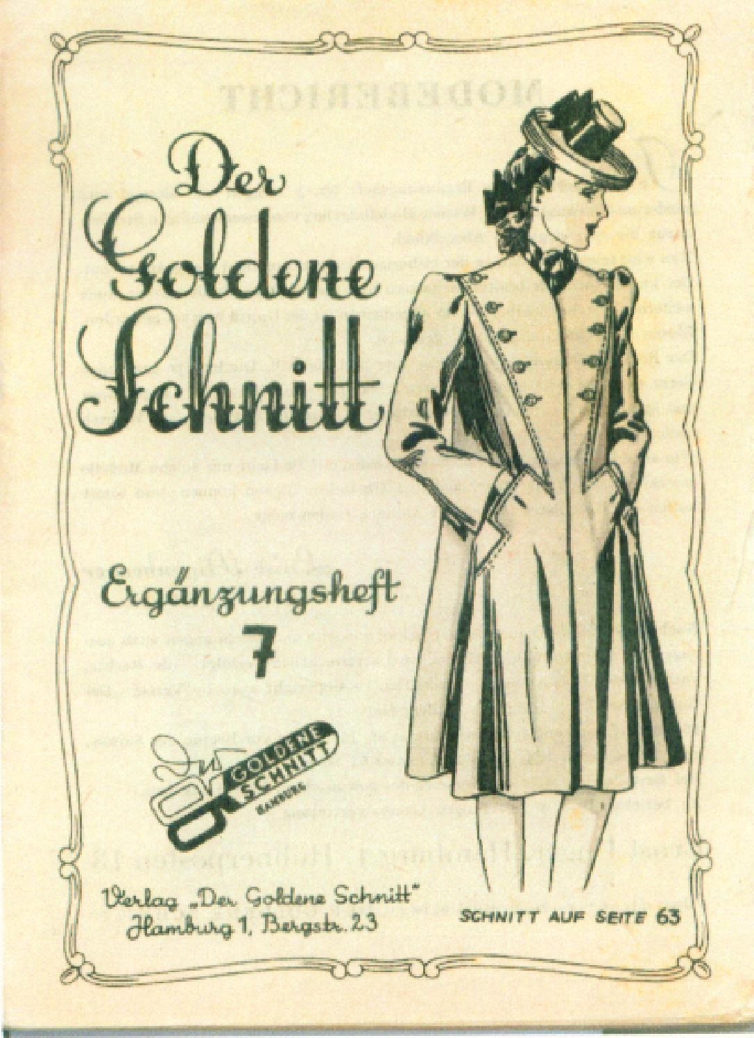 Vintage Sewing Patterns 0007 autumn 1940 by Pennie Annie - issuu ...