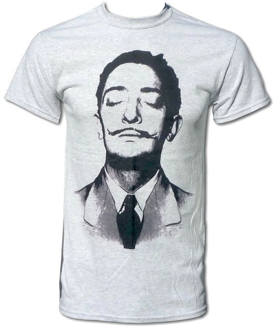Salvador Dali Cool Retro Unisex Pop Art T Shirt - Graphic Tees For ...
