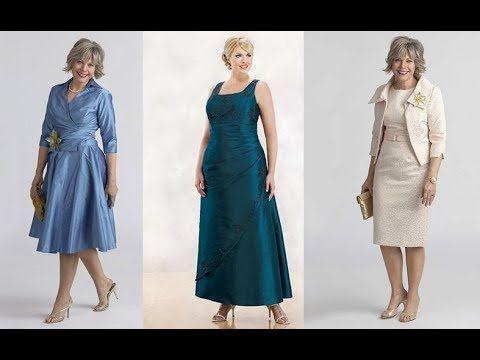 Vestidos Para Señoras De 40 A 50 Años A Mas Moda 2018