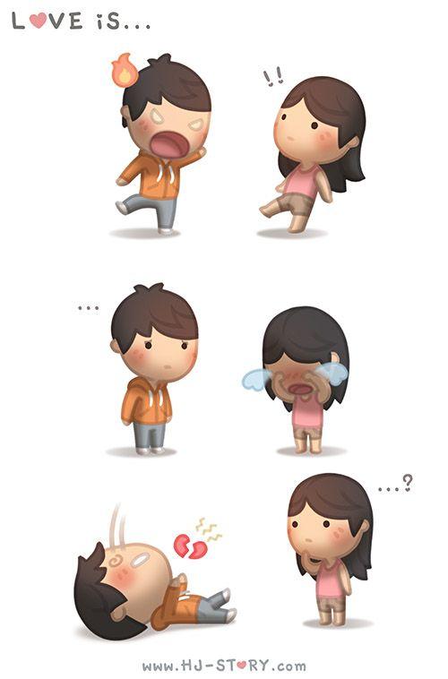 Namorados Apaixonados Desenho Com Frases Pesquisa Google Coração