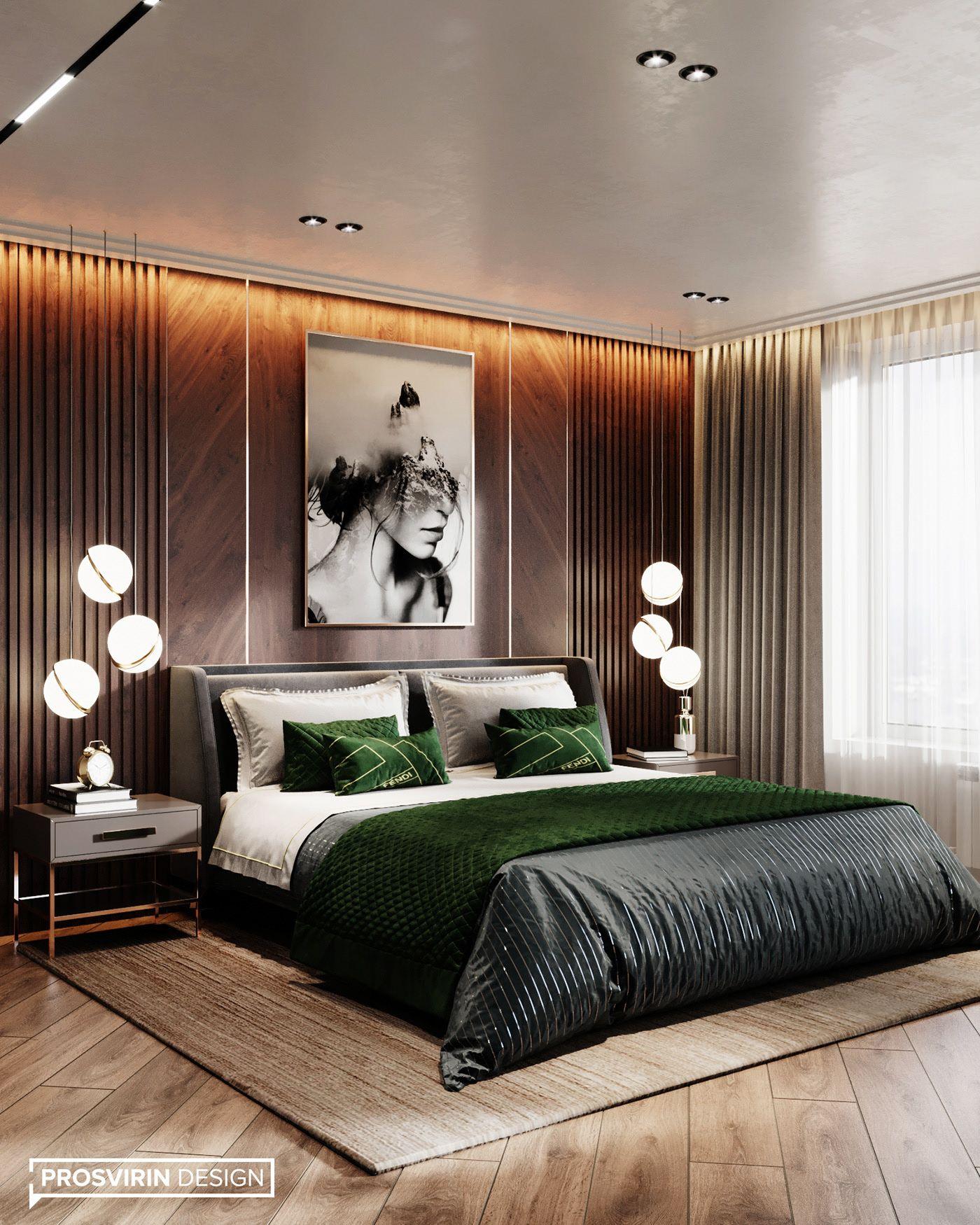 FULLLIFE on Behance in 2020 | Luxury bedroom design ...