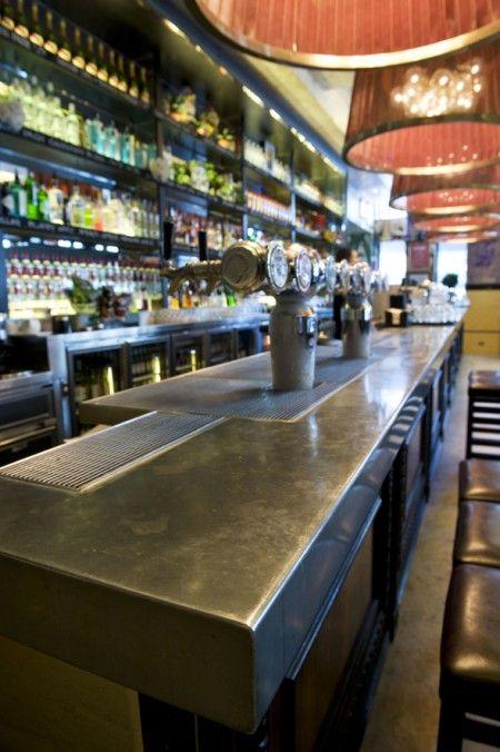 Zinc Bar Top - Sugar Mill Hotel | Zinc bar top, Bar room ...