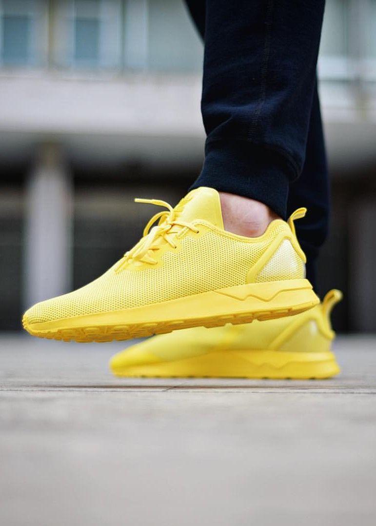 adidas zx flux amarillas