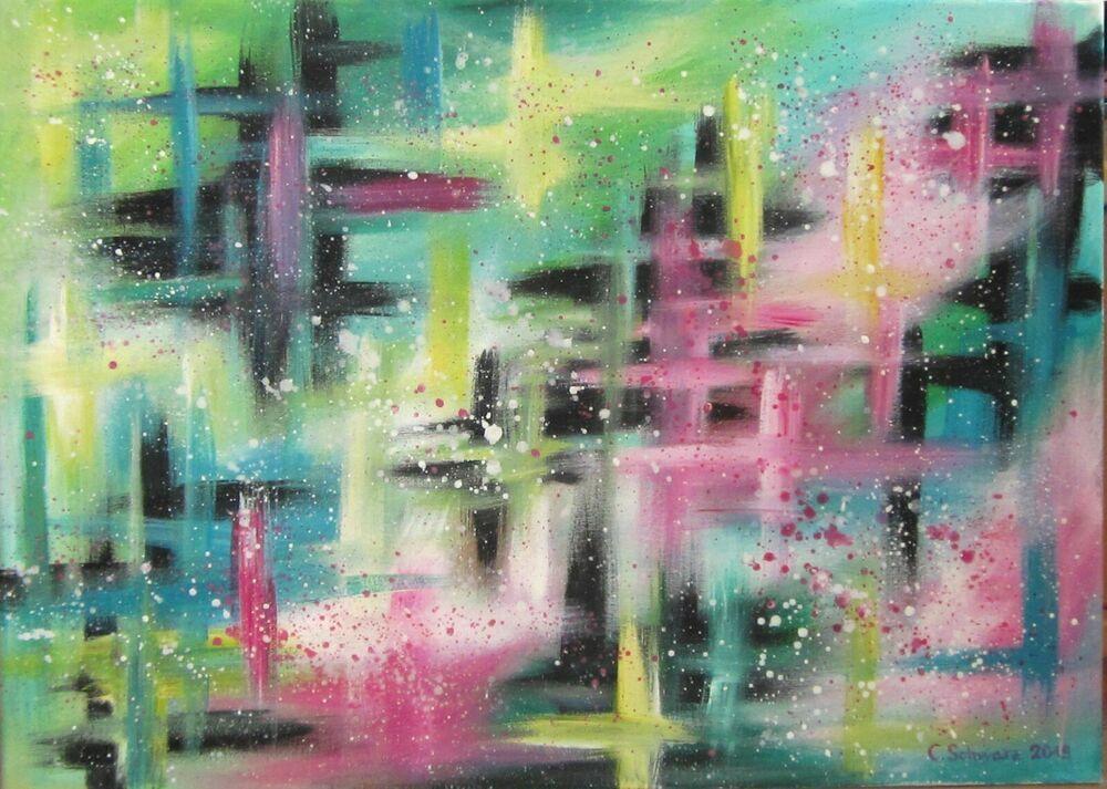 Hände Abstrakt Bild Bilder Leinwand Keilrahmen Wandbild Kunstdruck