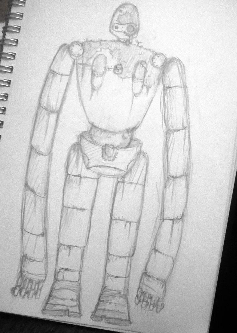 Doodle:laputa robot soldier