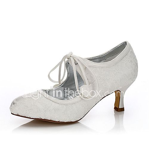Women S Dyeable Wedding Shoes Fall Winter Comfort Shoes Silk Tulle