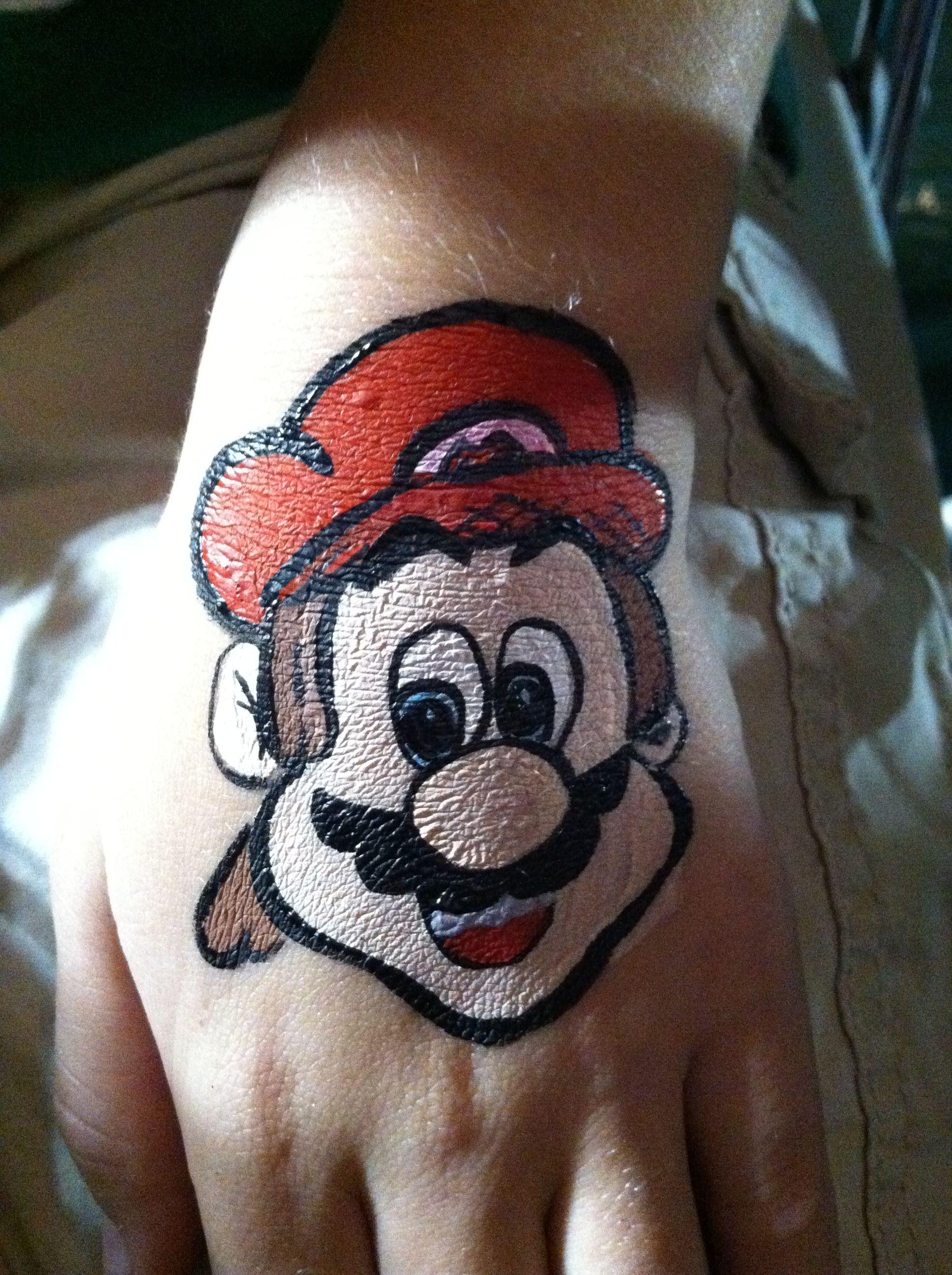 Nintendo's Mario!    #videogames #supermario #facepainting #birthdayparty #celebrate #entertainment #games #facepainter #mariobros #videogame #fun #themedparty