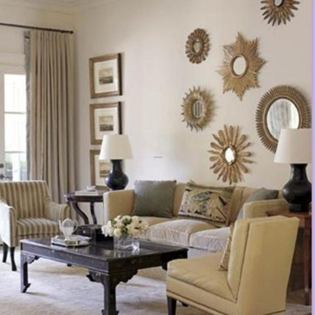 Bamboo style living room decor