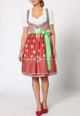 Stockerpoint LALITA - Dirndl - red - Zalando.de