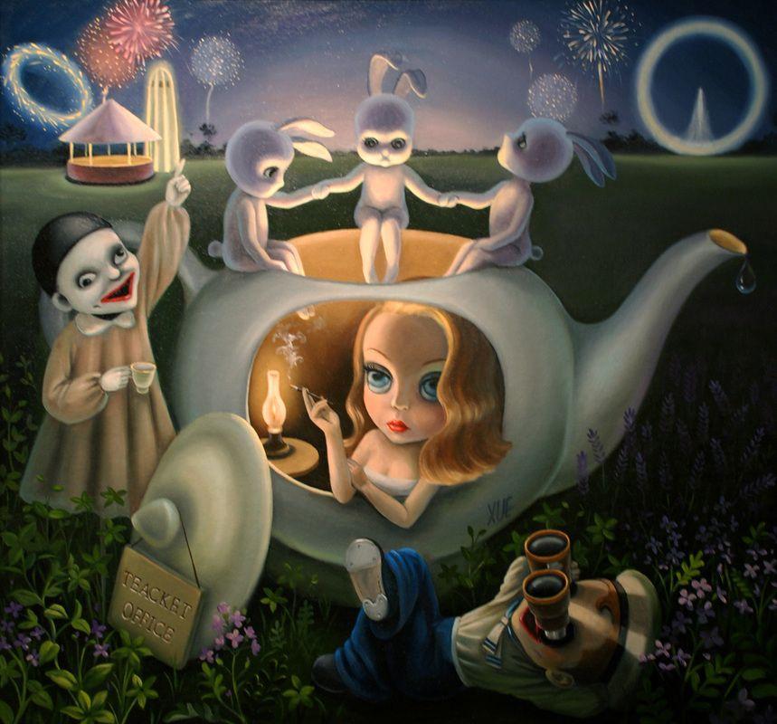 Paintings - XUE WANG