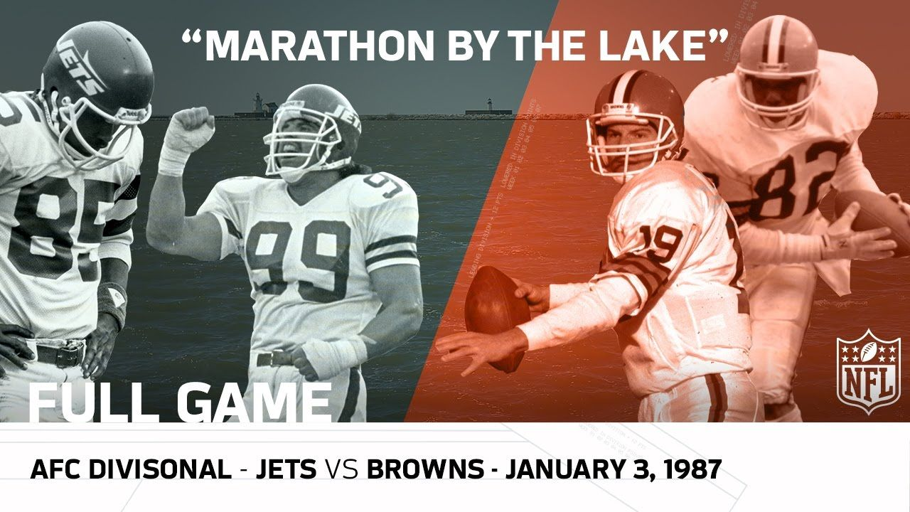 Jets vs. Browns Marathon by the Lake 1986 AFC